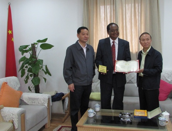 Appointment to Chongqing International Exchange Association